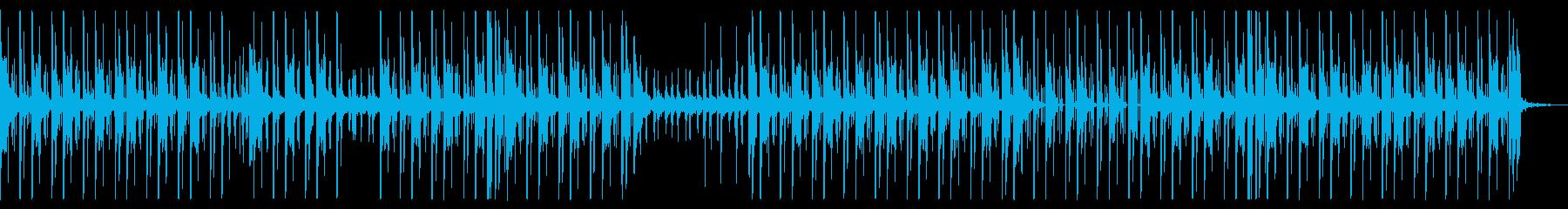 シンプルで不良っぽいヒップホップの再生済みの波形