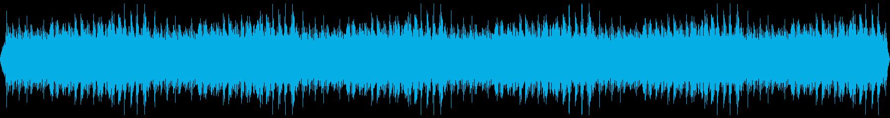 穏やかに折り重なるピアノのフレーズの再生済みの波形