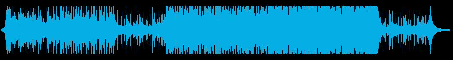 クリーン前向き、希望に満ちたポップロックの再生済みの波形