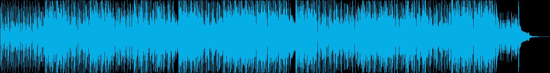 軽やかで可愛らしいインドポップの再生済みの波形