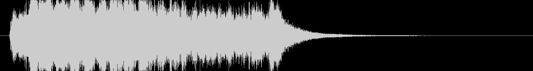 ディズニー風ジングル4の未再生の波形