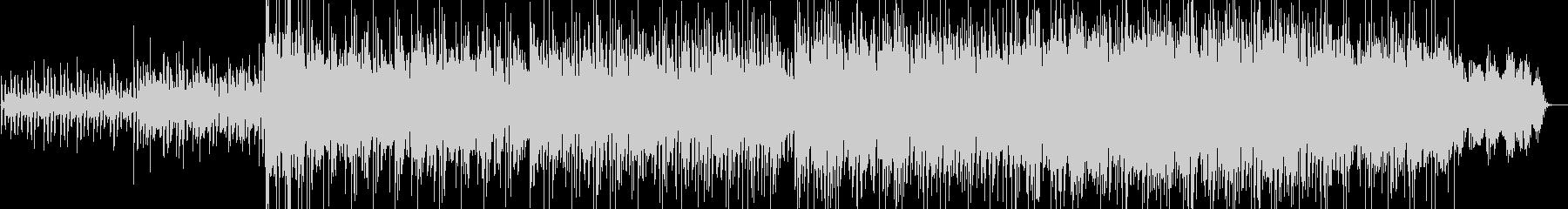 軽やかな雰囲気の電子音ポップの未再生の波形