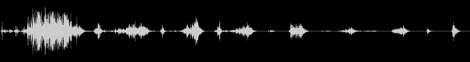 食べる音16(ポテトチップスなど)の未再生の波形