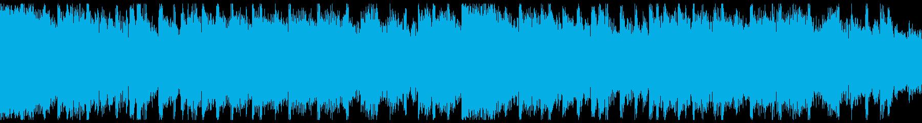 軽快でオシャレなEDM(15秒・②)の再生済みの波形