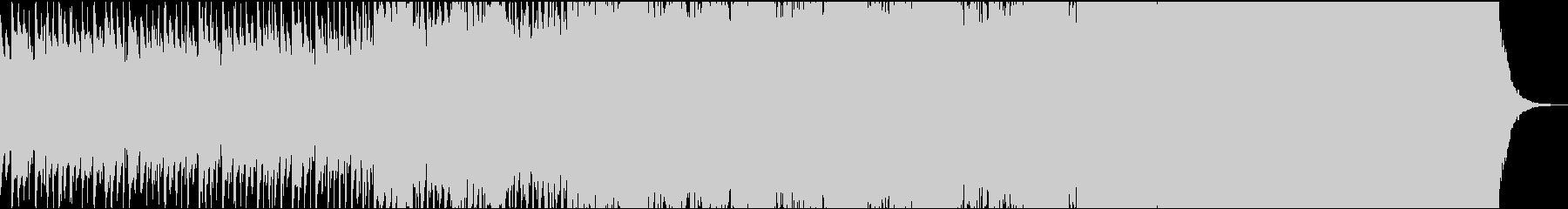 怪しくもコミカルなチェレスタのゴシック曲の未再生の波形