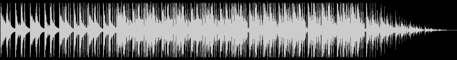 寂しい/ピアノ/R&B_No489_3の未再生の波形