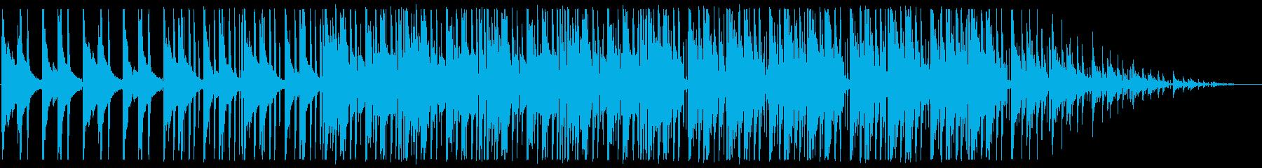寂しい/ピアノ/R&B_No489_3の再生済みの波形