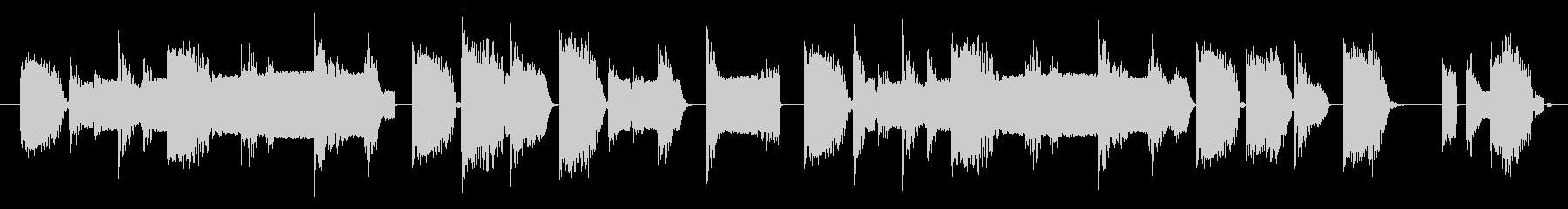 【ループ】ロボット/ゲーム/リザルトの未再生の波形