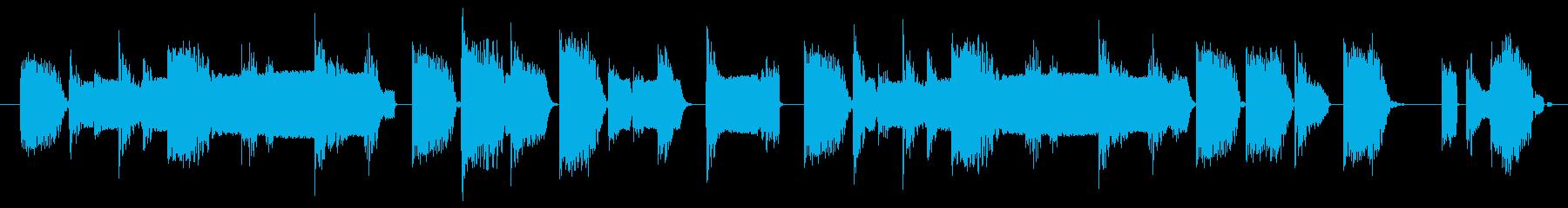【ループ】ロボット/ゲーム/リザルトの再生済みの波形