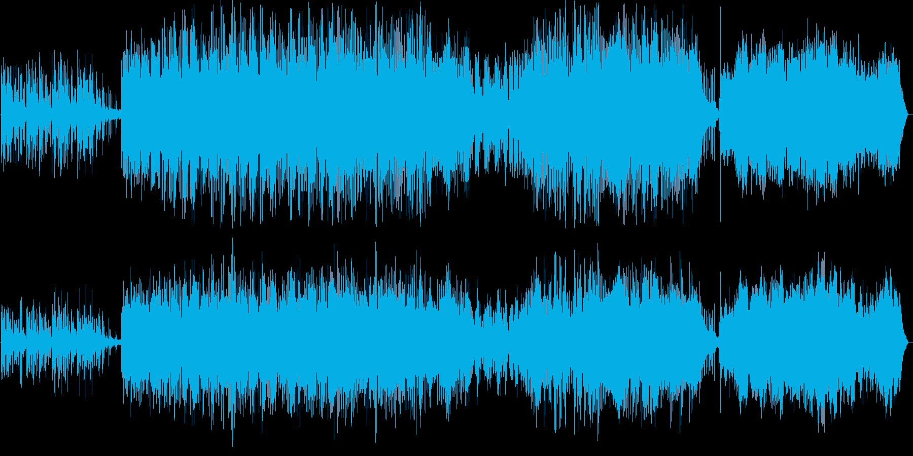 ファンタジー系のゲームに最適なBGMで…の再生済みの波形