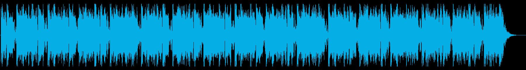 踊り出す雰囲気のEDMの再生済みの波形
