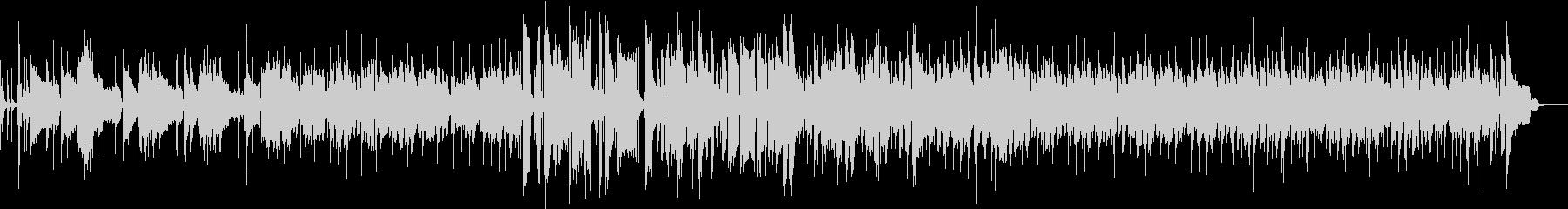 Saxソロの曲の未再生の波形
