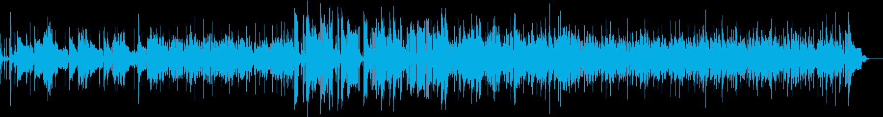 Saxソロの曲の再生済みの波形