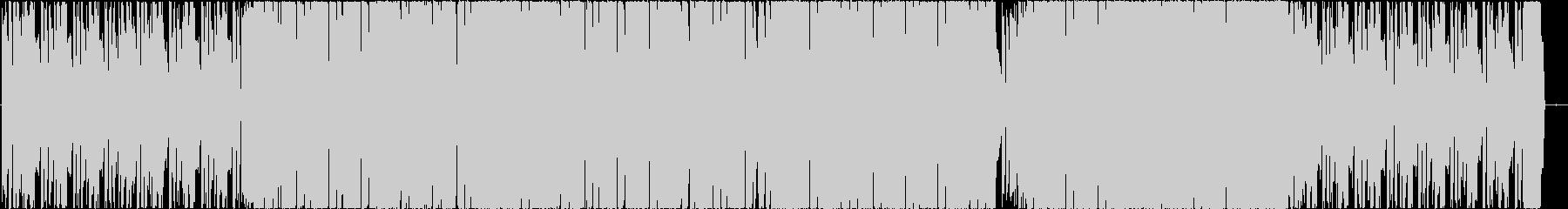ピアノ リフ メインのループEDMの未再生の波形