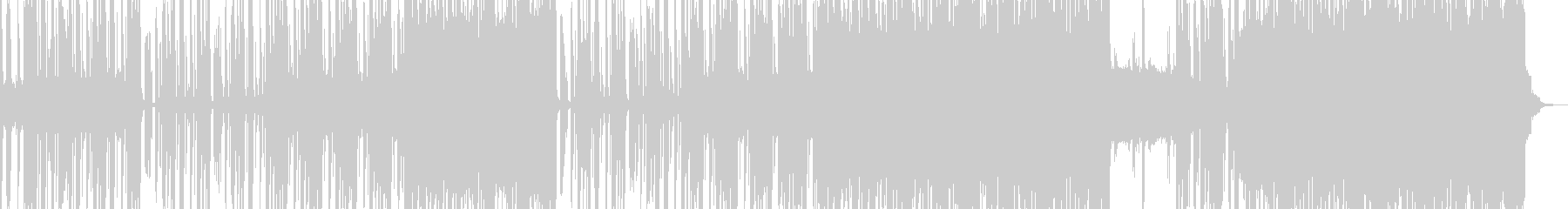 怪しげで恍惚なエスニックロック ボイス無の未再生の波形