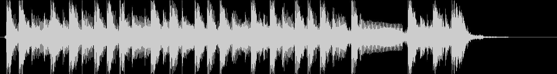 怪しい雰囲気ジングルの未再生の波形