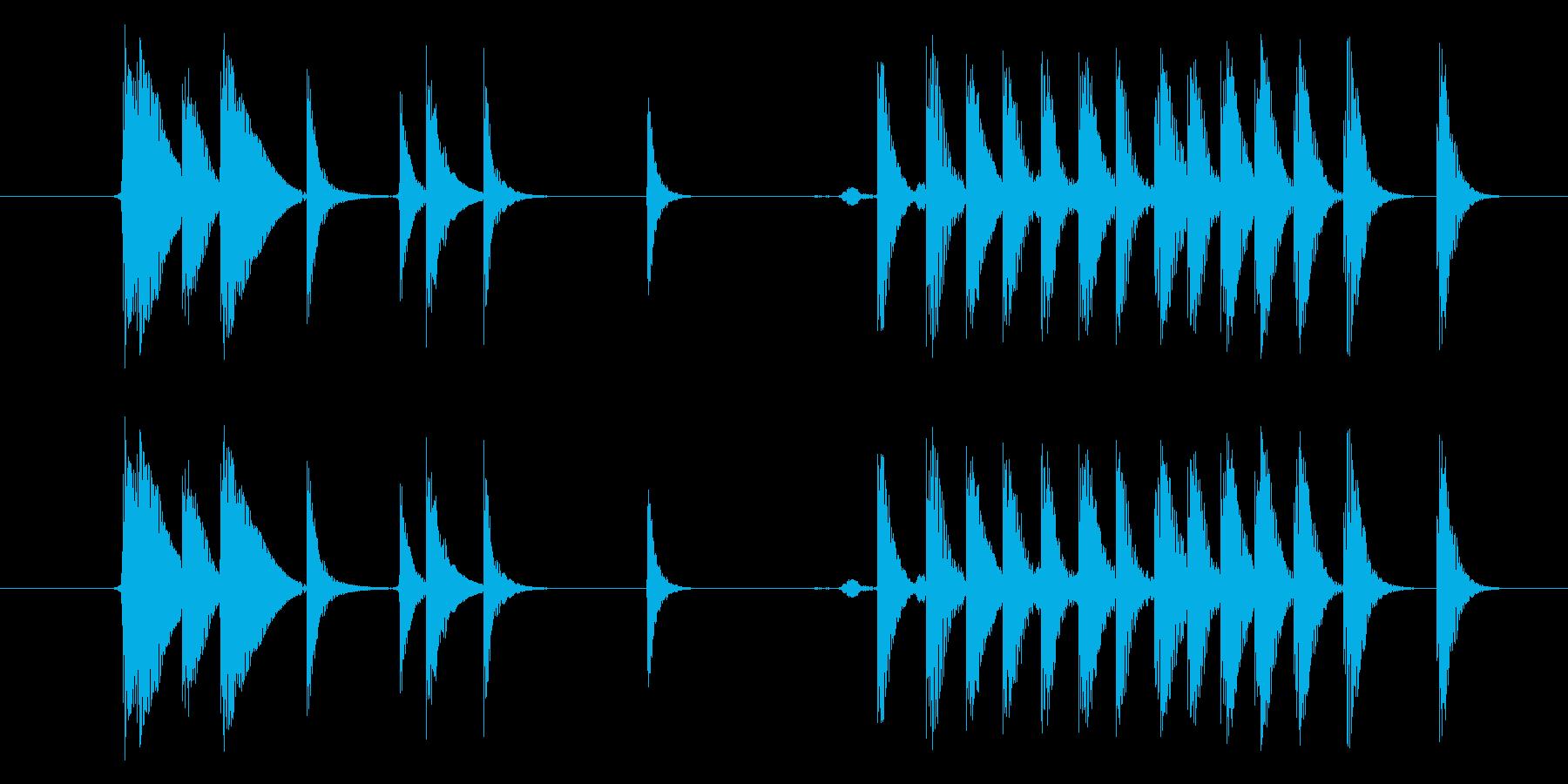 モンスター げっぷ02の再生済みの波形