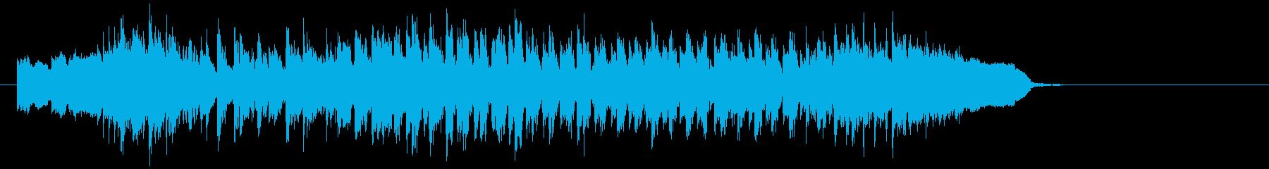 30秒CMに 夢いっぱいのポップなBGMの再生済みの波形