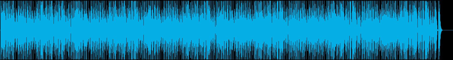 ほのぼのした日常のBGMの再生済みの波形