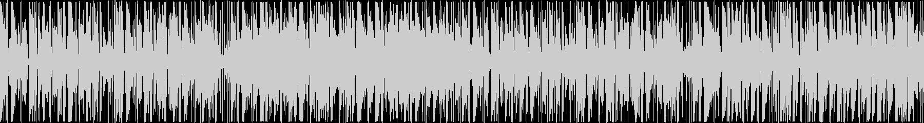 定番曲:のどかな日常[ループ]の未再生の波形