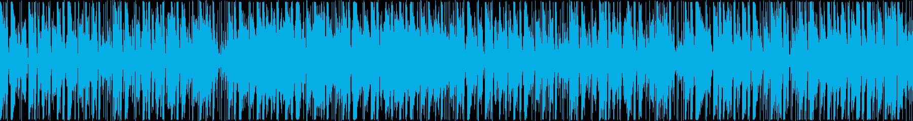 定番曲:のどかな日常[ループ]の再生済みの波形