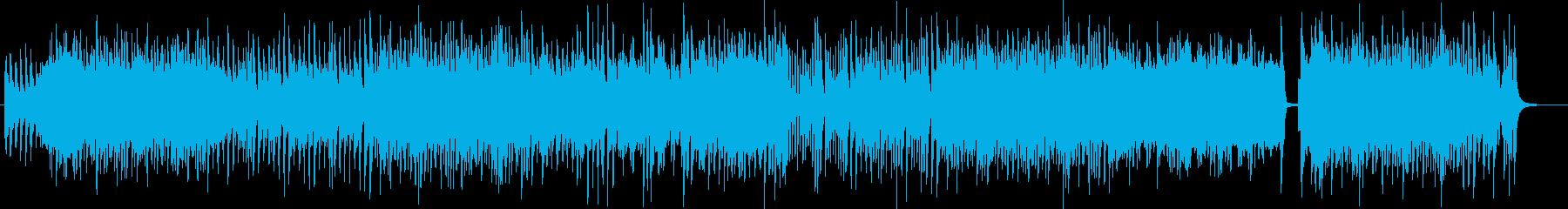 夏にマッチしたノリノリ曲の再生済みの波形