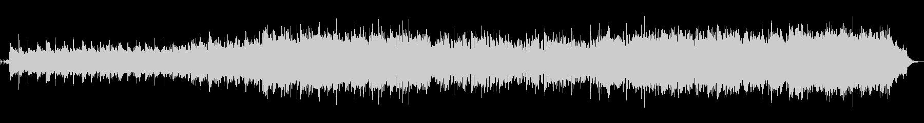 ハイテンポで激しいイングリッシュホルン曲の未再生の波形
