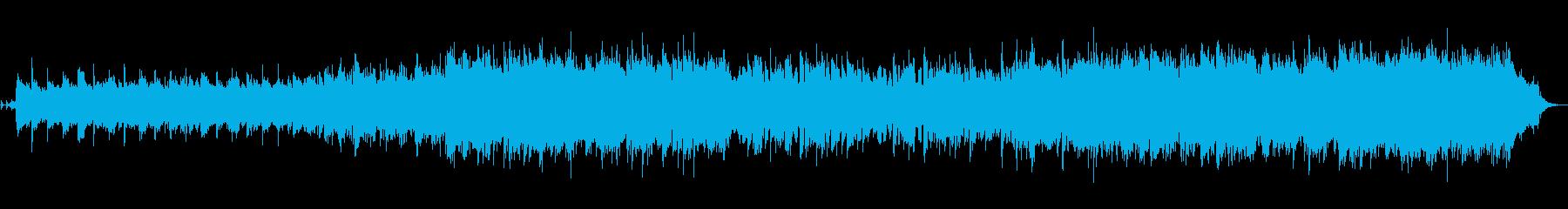 ハイテンポで激しいイングリッシュホルン曲の再生済みの波形