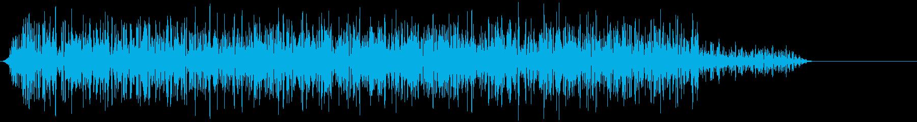 モンスター 威嚇 05の再生済みの波形