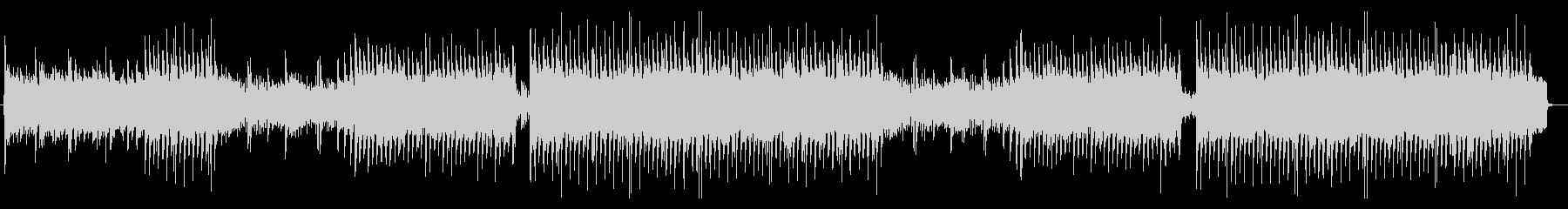 何かが始まるアニソン系元気キュートポップの未再生の波形
