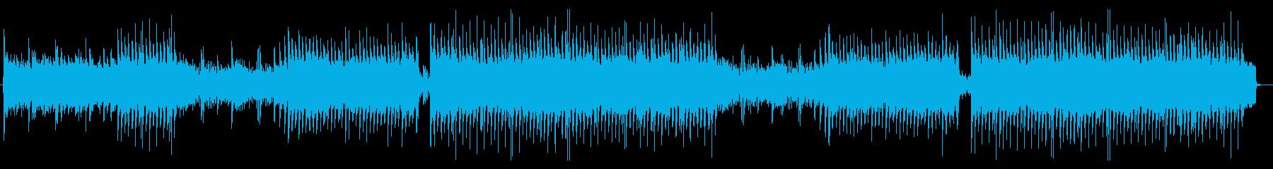 何かが始まるアニソン系元気キュートポップの再生済みの波形