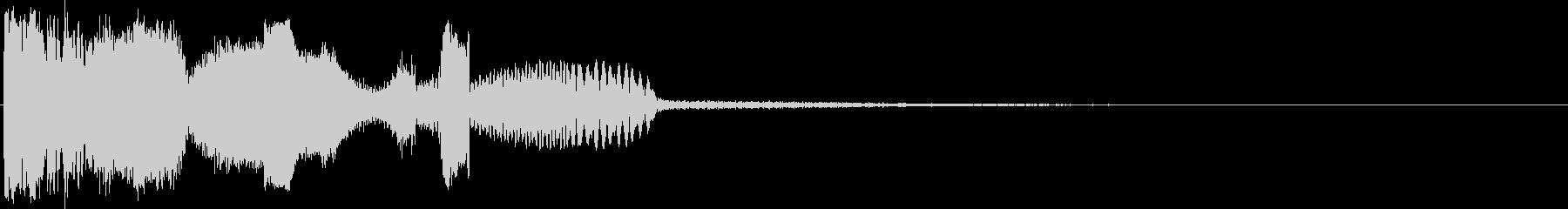 ラジオバーストの未再生の波形