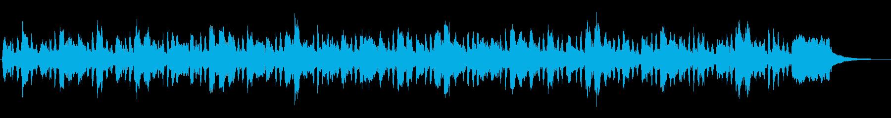 アイリッシュ風のコミカルなジングルの再生済みの波形