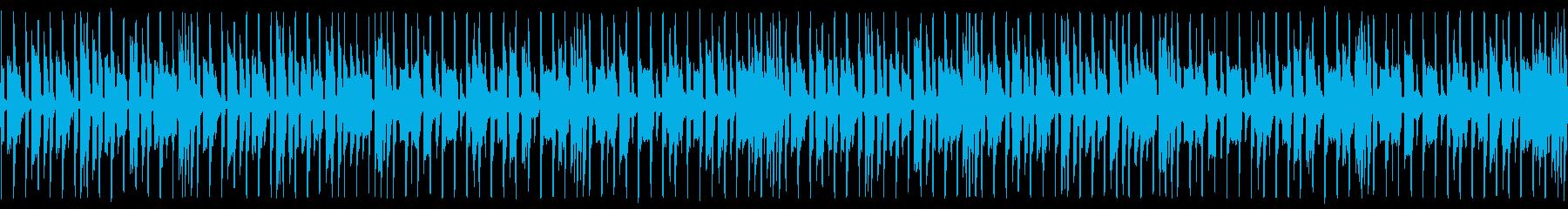 セール、お店の呼び込みBGMの再生済みの波形