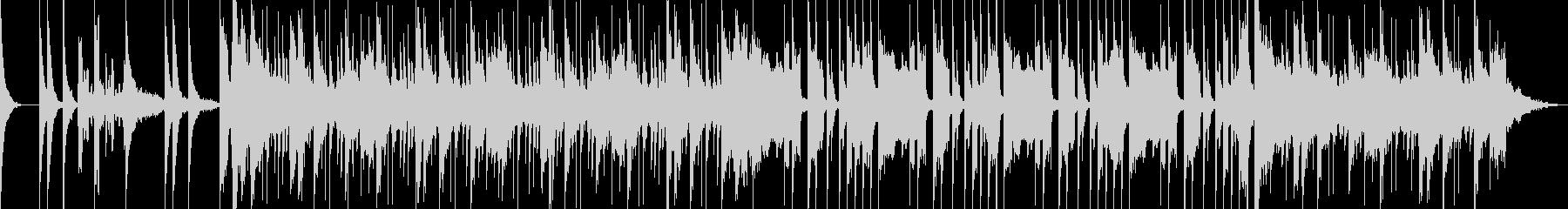 エスニック×R&Bの未再生の波形