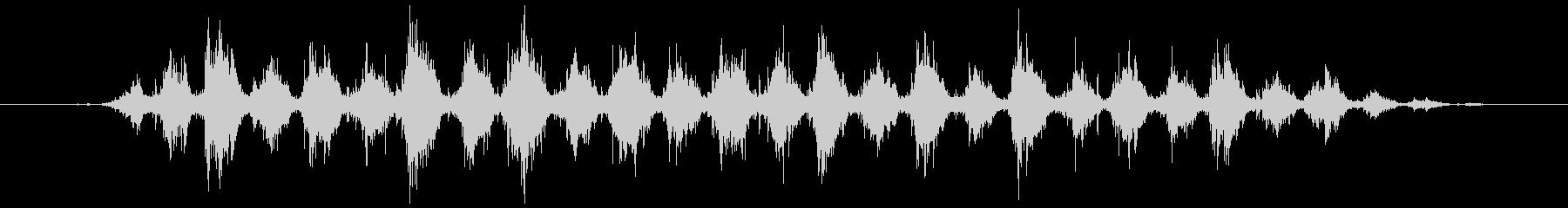 歯磨きする音 短め(シャカシャカ…)の未再生の波形