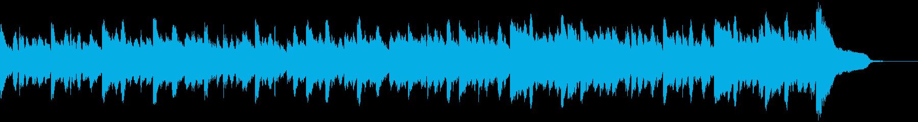 幻想的で落ち着いたアンビエント2 の再生済みの波形