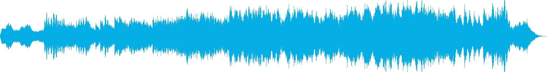 アンビエント・ミニマル・ヒーリング音楽の再生済みの波形