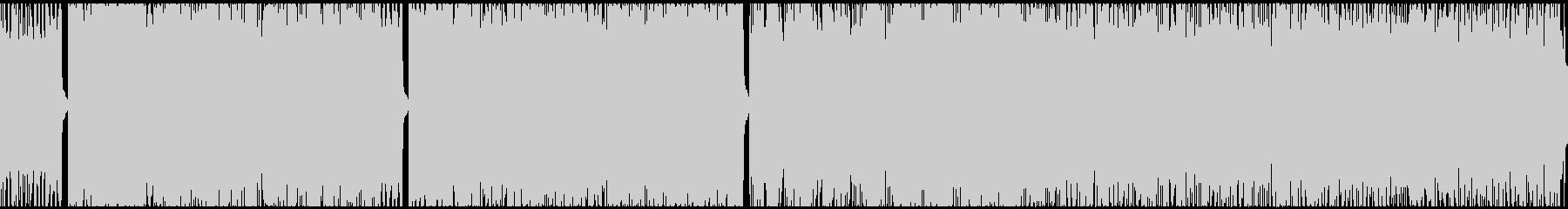 爽やかで軽快なBGMのループverですの未再生の波形
