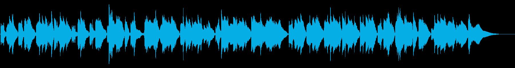 うとうと・眠気を誘う間の抜けたコミカル曲の再生済みの波形