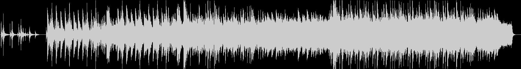 カノンモチーフの厳かなピアノバラードの未再生の波形