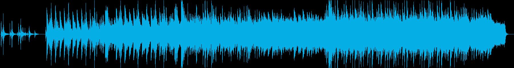 カノンモチーフの厳かなピアノバラードの再生済みの波形