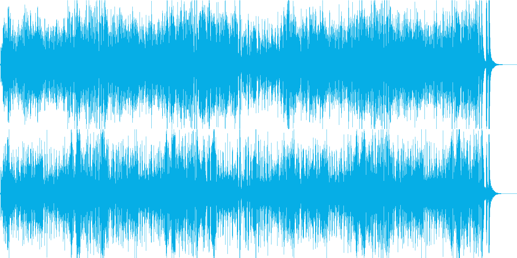 YouTube play accompanied by a little hero's reproduced waveform