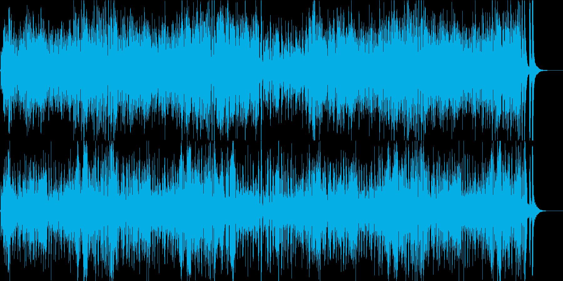 YouTube劇伴 チビッ子ヒーロー登場の再生済みの波形
