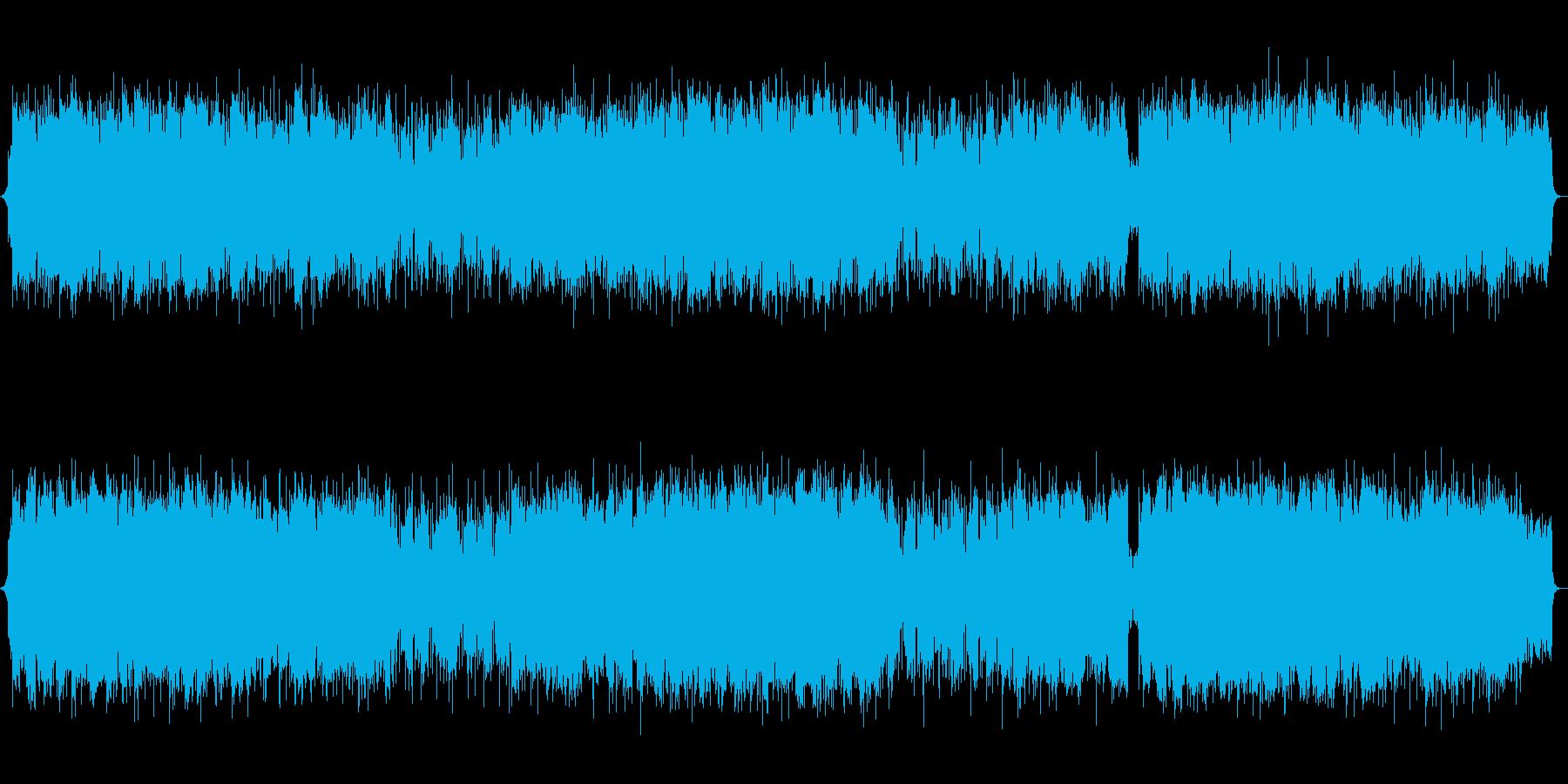 篠笛・神秘的・幻想的・歴史・バラードの再生済みの波形