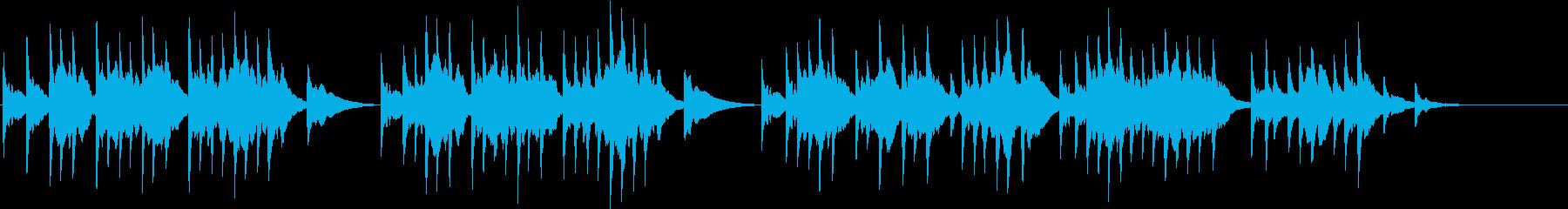 ソルベーグの歌  オルゴールの再生済みの波形