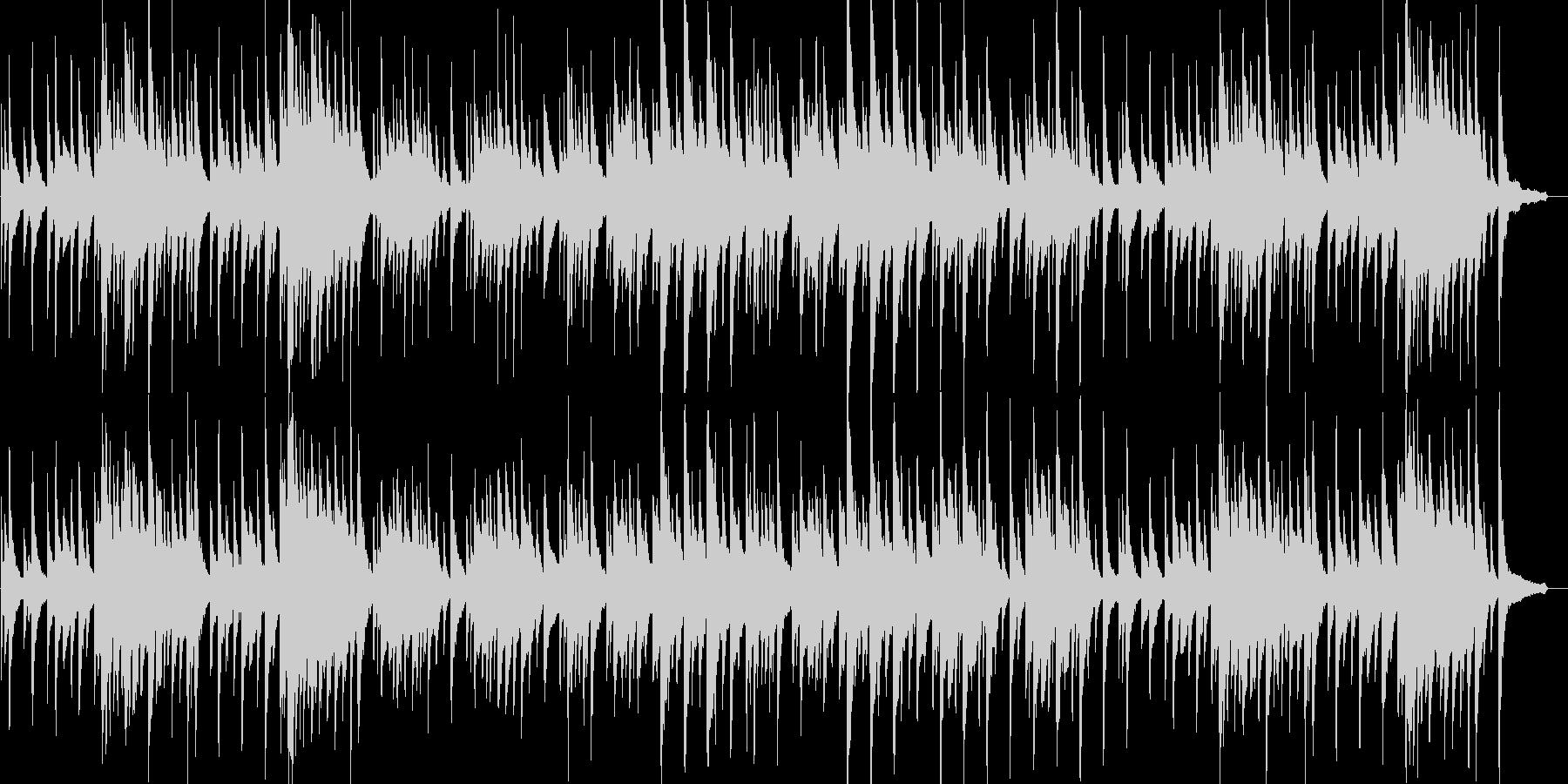 静かな雰囲気の夜曲の未再生の波形