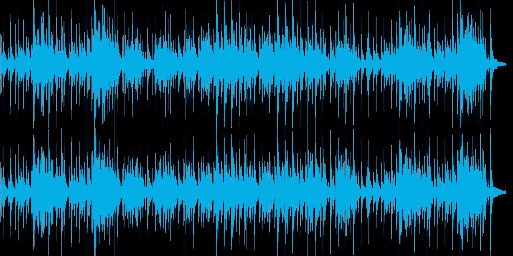 静かな雰囲気の夜曲の再生済みの波形