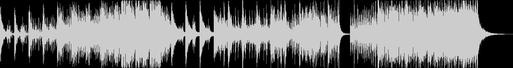 現代の交響曲 劇的な 神経質 ピア...の未再生の波形