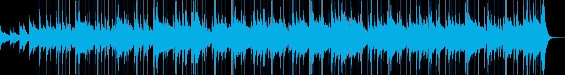 ピアノをベースにした、テーマに合わ...の再生済みの波形
